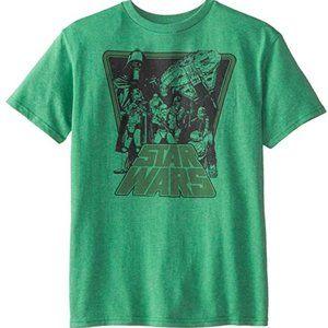 Star Wars Boys' T-Shirt XL Green